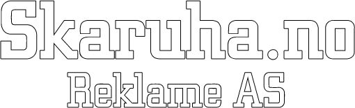 Skaruha.no Reklame AS, logo